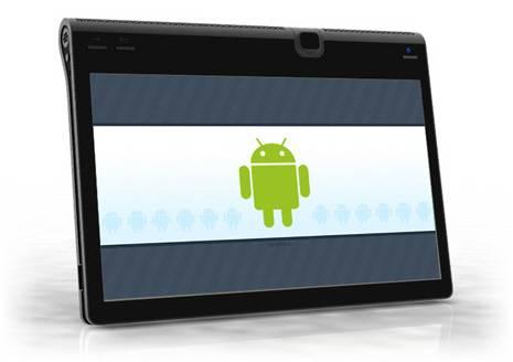 Tablet Bloccato Scritta Android