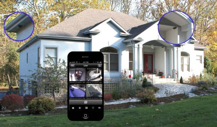 Sistemi di videosorveglianza wifi per la casa