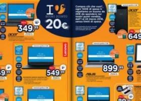 Volantino Unieuro –  Notebook Acer Aspire E5