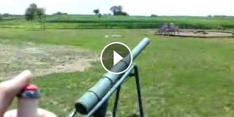 Il Cannone al Carburo - Un'Arma Fatta in Casa