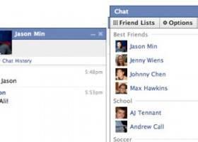 Chat Facebook Simboli