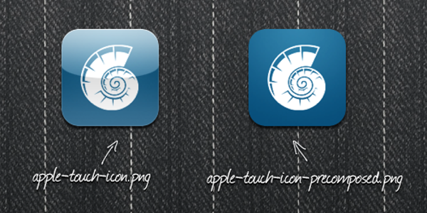 Apple Touch Icon Precomposed