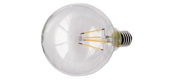 Come funzionano le lampadine led a filamento for Lampadina lunga led