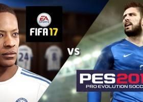 PES 2017 vs Fifa 17 – Quale È il Migliore?