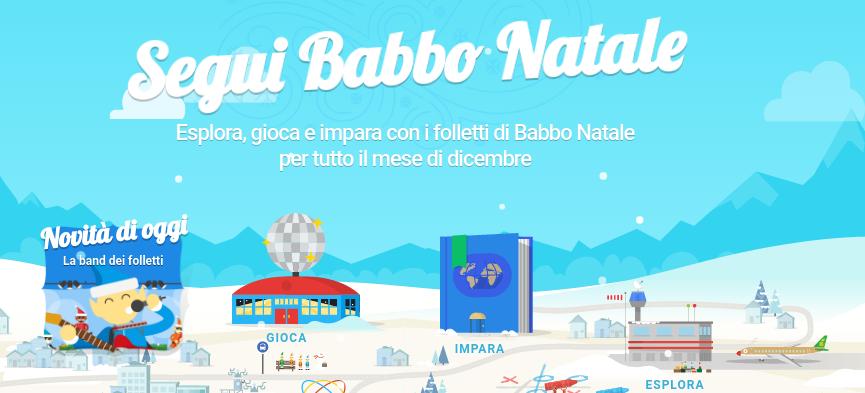 Scopri il villaggio di Babbo Natale di Google