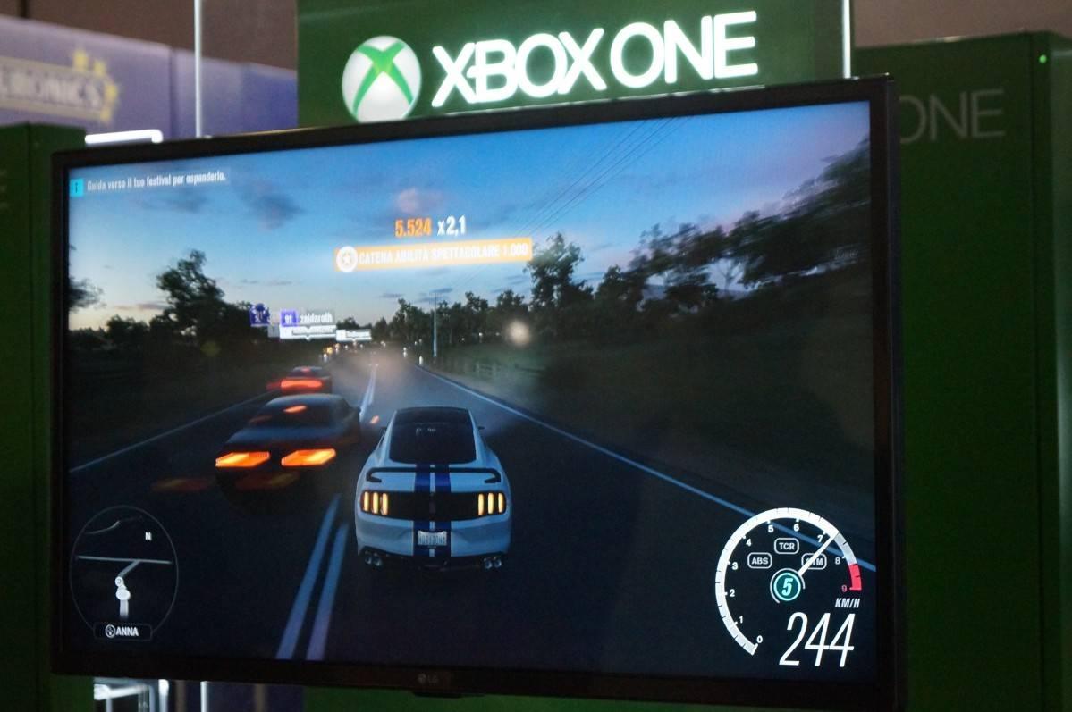 XBox One S proviamo la console Microsoft al Let's Play di Roma