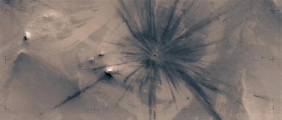 Prenditi 3 minuti per guardare questo incredibile Video di Marte!