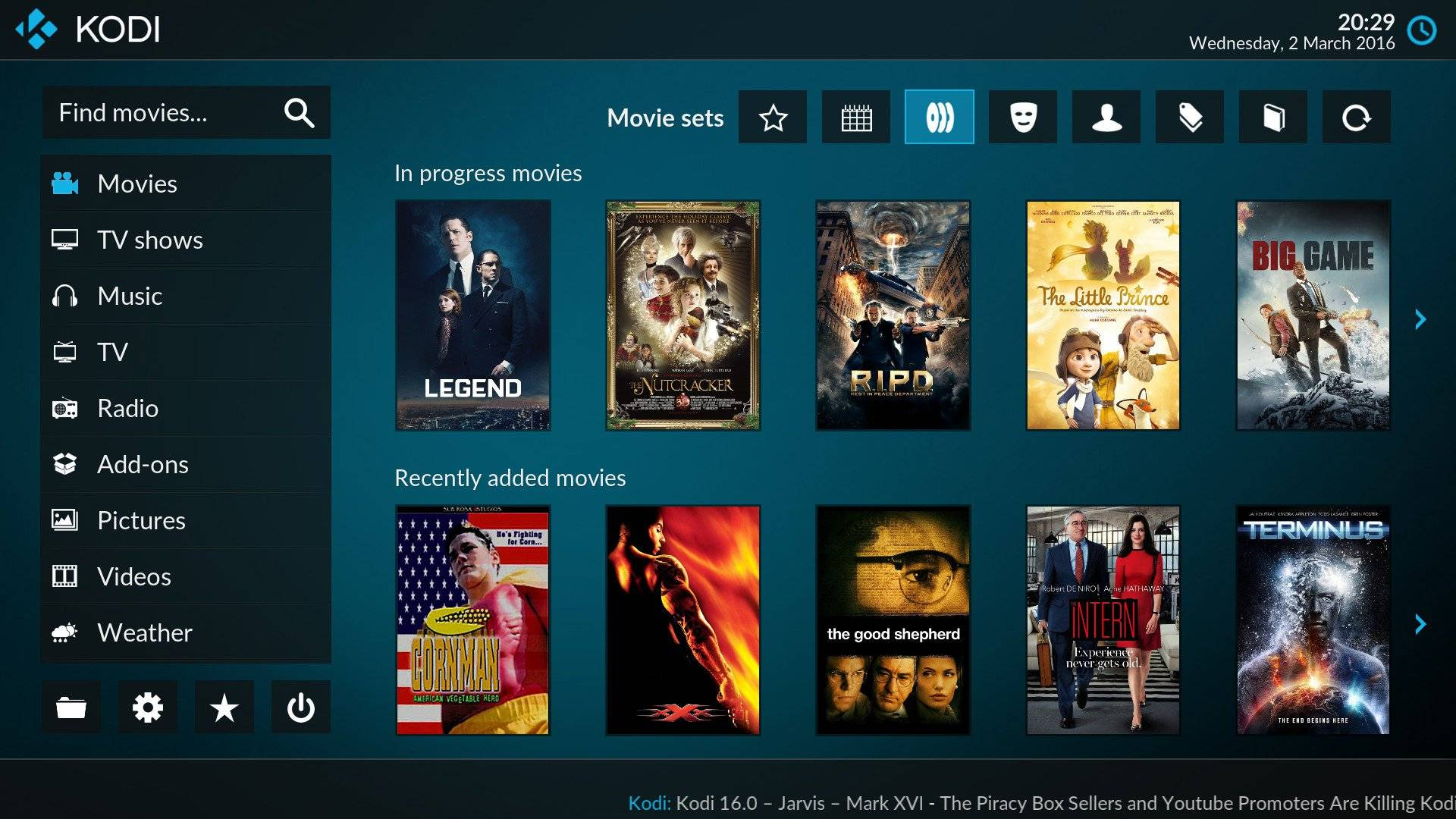 Kodi TV Installazione programmi per Vedere la TV in Streaming