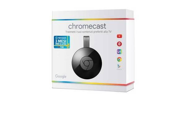 Come vedere TimVision con Chromecast