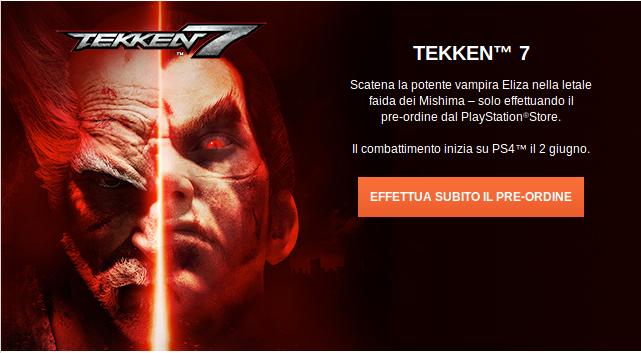 Uscita di Tekken 7