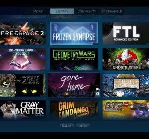 Steam Link Smart TV e la Steam App per Samsung