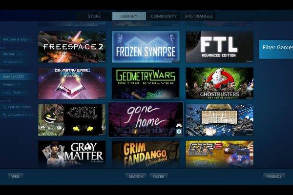 Steam Link Smart TV e la Steam App per Samsung