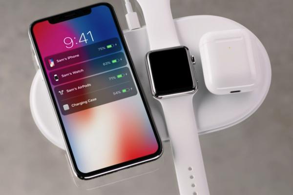 Apple AirPower ricaricherà tre dispositivi con una singola base