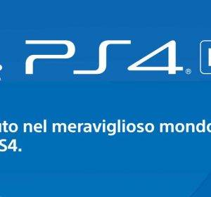 Download del Manuale PS4 pdf in italiano