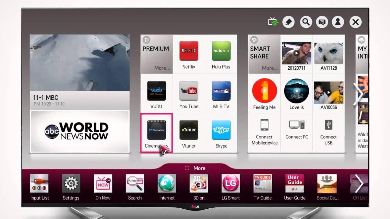 """Smart TV LG e il messaggio """"l'app verra riavviata per liberare altra memoria"""""""