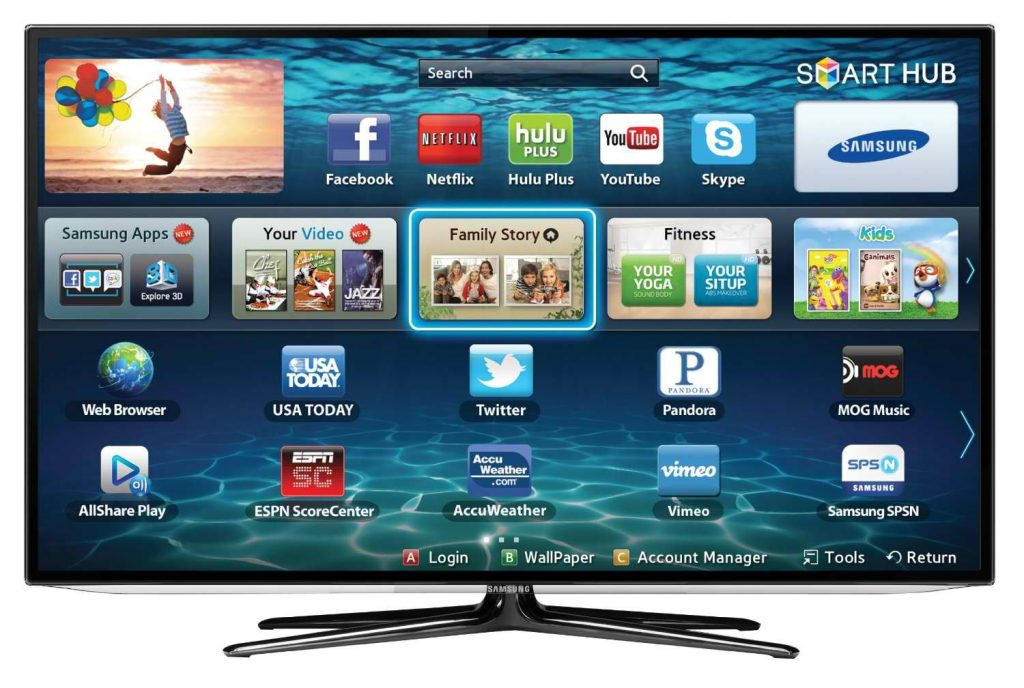 Come installare su smart Tv Samsung Google TV, Chrome e YouTube