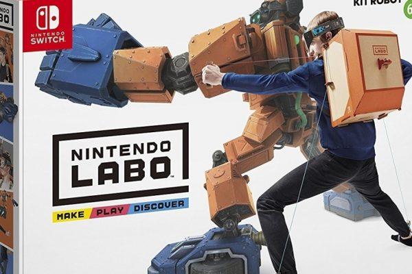 Kit Nintendo LABO in vendita su Amazon