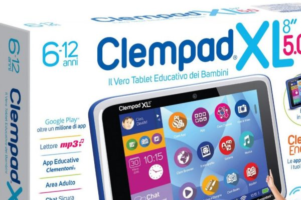 Clempad Clementoni tablet android per bambini