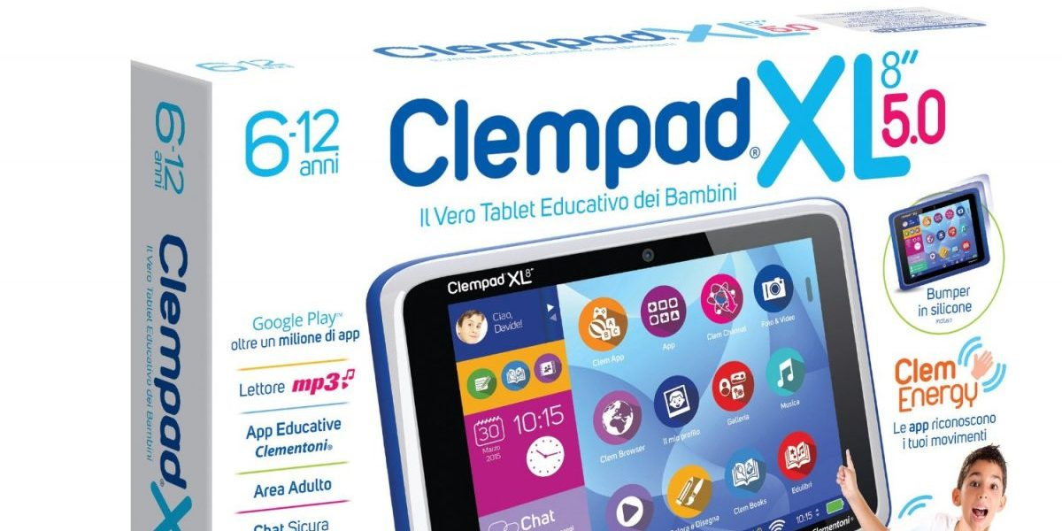 Clempad Clementoni il tablet android per bambini
