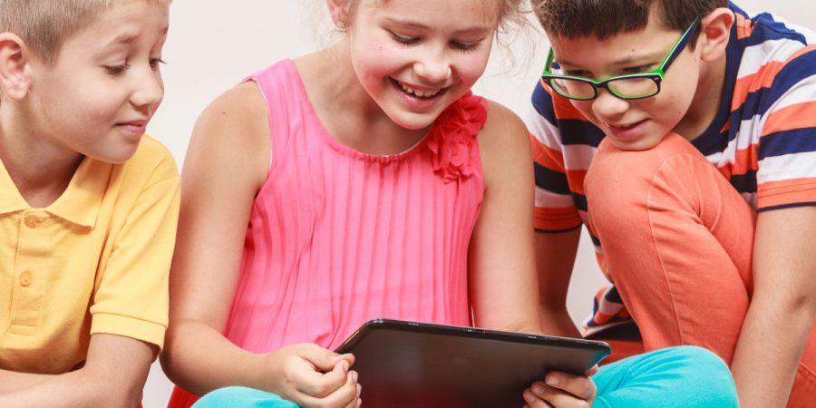 tablet giusto per l'età del bambino