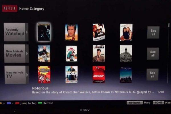 installare Netflix su Smart Tv Sony