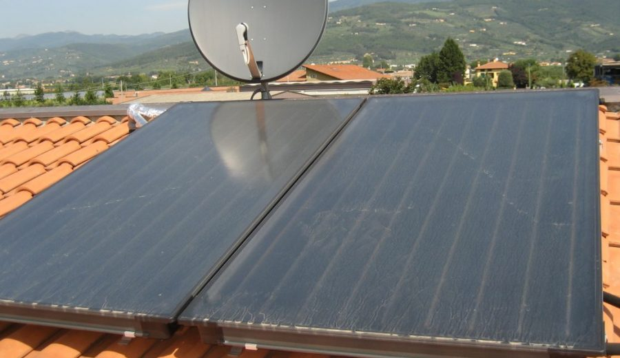 Condizionatore pannello solare in vendita sul mercato