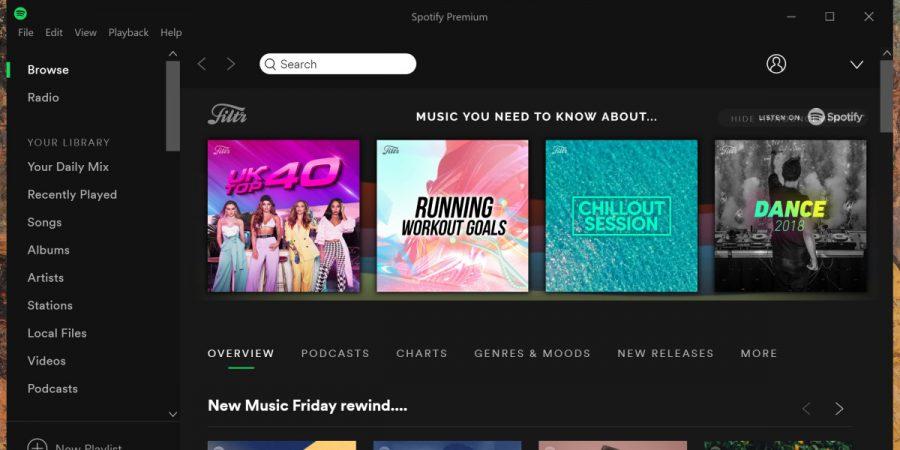 Spotify scegli tu la musica