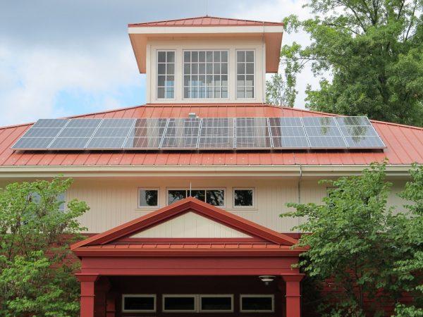 Pannello solare per alimentare condizionatore