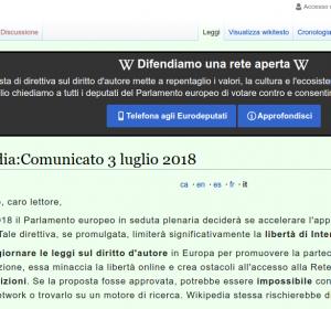 Perchè wikipedia non funziona
