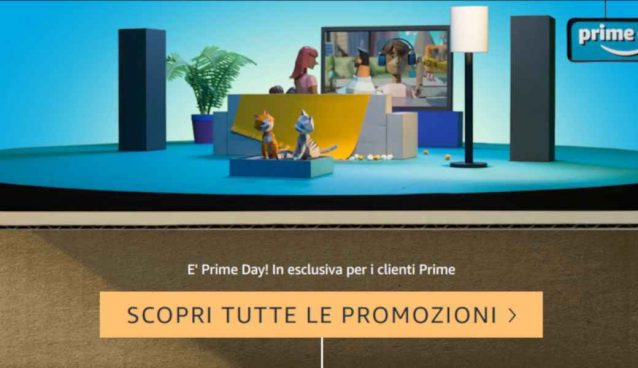 Amazon Prime Day le offerte su Smart TV e Soundbar