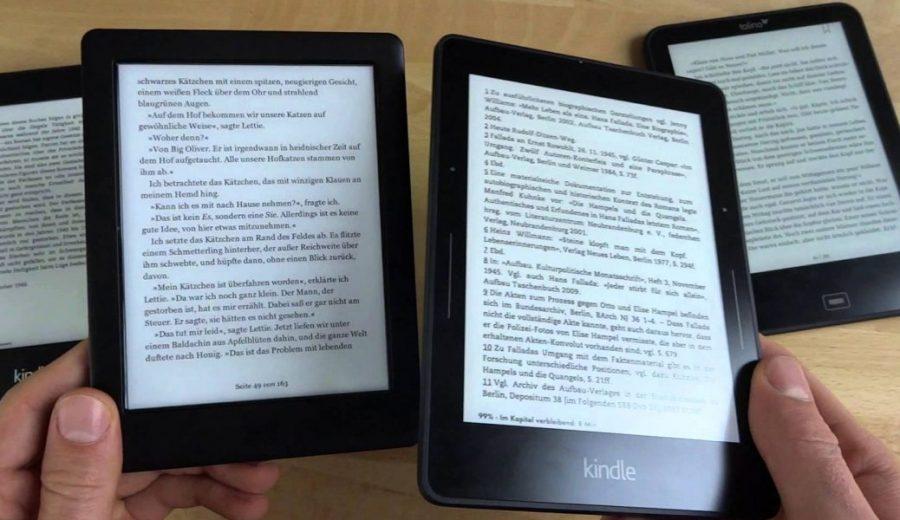 lettore e-book Kindle