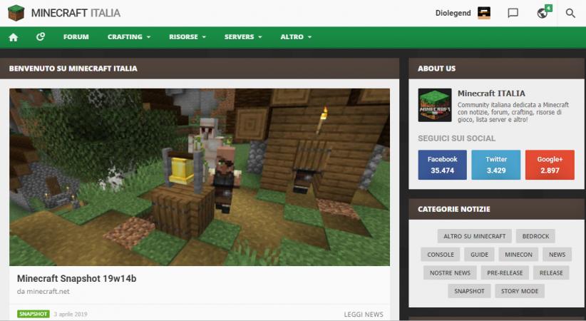 server su Minecraft