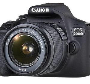 EOS 2000D la nuova entry level della Canon