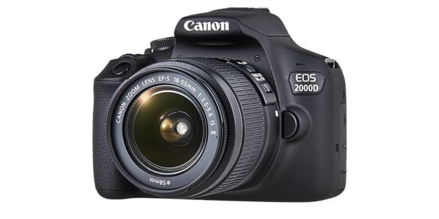 canon eos 2000D entry level