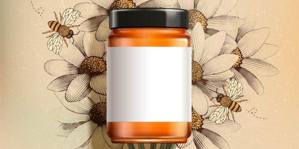 Etichette per miele e barattoli in generale